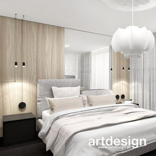 Naturalne materiały, jasna i ciepła kolorystyka, zrównoważona kompozycja form – to cechy n ...