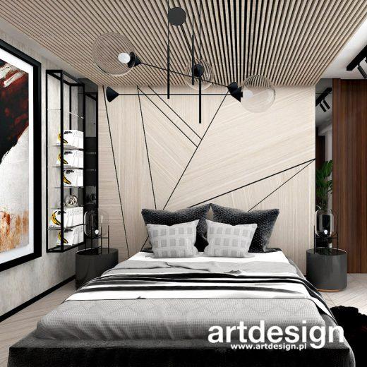 Drewno dodaje wnętrzu sypialni ciepła i przytulności, tak ważnych w tym pomieszczeniu. Tutaj mam ...