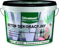 Beton dekoracyjny Ultrament to szara masa betonowa o płynnej konsystencji, która pozwala na wyko ...