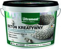 Beton kreatywny Ultrament to szara masa betonowa, która po zmieszaniu z wodą zyskuje wysoce plas ...