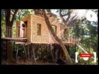 A ty kiedy ostatnio widziałeś domek na drzewie ? sprawdź na filmiku jakie świetne konstrukcje mo ...