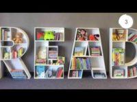 10 kreatywnych biblioteczek ściennych. Regał na ksiązki