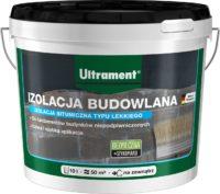 Ultrament Izolacja budowlana typu lekkiego to czarna, cienkowarstwowa powłoka bitumiczna przezna ...