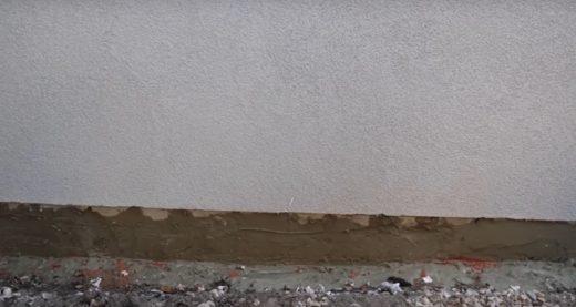 Krok czwarty: wypełnianie otworów po iniekcji  Po zakończeniu prac nieosłonięty mur należy pozos ...
