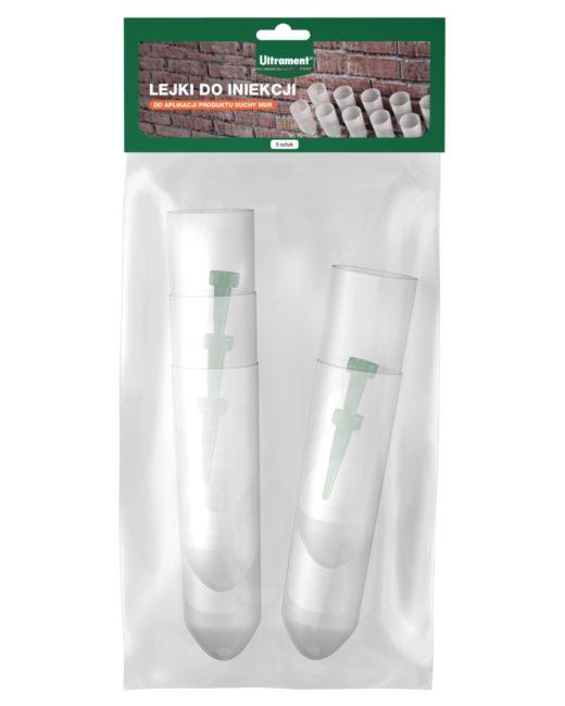 Lejki do iniekcji od Ultrament to produkt stosowany do aplikacji preparatu Suchy Mur. Odpowiedni ...