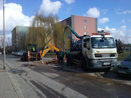 Usuwanie awarii kanalizacji