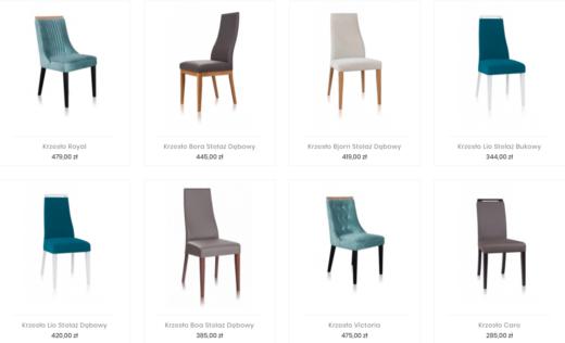 Sprawdź na jumeble.pl stylowe krzesła do jadalni i salonu.