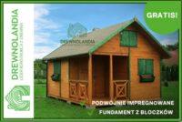 Producent domów do 35m2 z wysokogatunkowego litego drewna. Każdy domek w standardzie zawiera sto ...