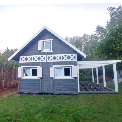 Dom drewniany całoroczny Wiktor III – Producent Drewnolandia.