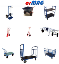 ARMAG – wózki nakładowe platformowe i specjalizowane (m.in. wózki skrzyniowe, wózki do but ...